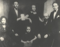 Moishe Wiernik, Sura Cytrinyash and their children